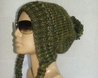 Slouchy Ear Flap Hat