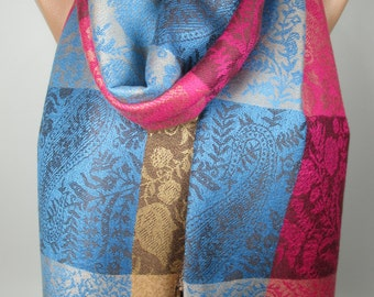 Large Pashmina Scarf Oversize Scarf Shawl Cowl Scarf Winter Spring Scarf Women Fashion Accessories Christmas Gift Ideas For Her For Mom