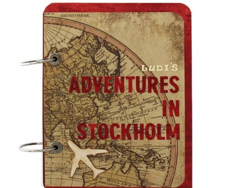 Our Adventure Book - Anniversary Gift - Gift For Couples - World Map Travel Journal - Wanderlust Journal - Travel Journal - Traveler Gift
