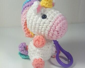 Crochet Amigurumi Accessories : Amigurumi Crochet Keychain One Smart Cookie Desk by ...