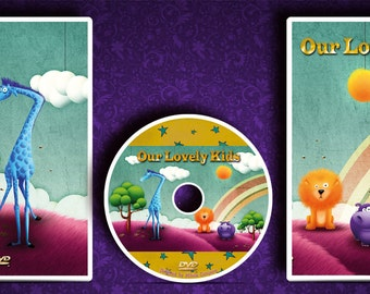 Custom made and printed CD/DVD Case and Disc label.