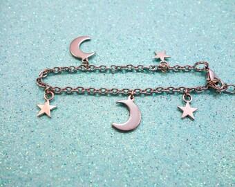 Sun and Moon Galaxy Bracelet