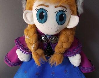 Anna Disney Frozen Plush Doll Plushie Toy [READY TO SHIP]