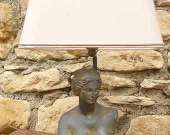 1vintage, lamp, bust of aphrodite