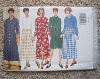 UNCUT Misses / Misses Petite Dress - Butterick Pattern 4629