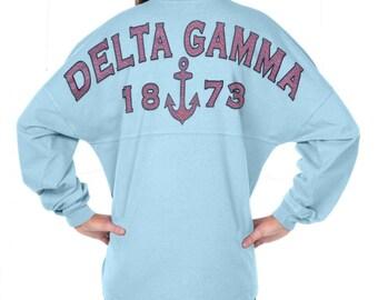 Delta Gamma - Fun n' Flair (Greek) Spirit Jersey (J0470152718)