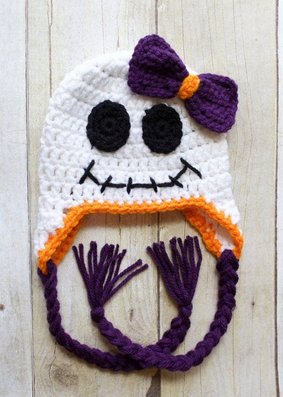 Items Similar To Crochet Halloween Hat Crochet Ghost Hat