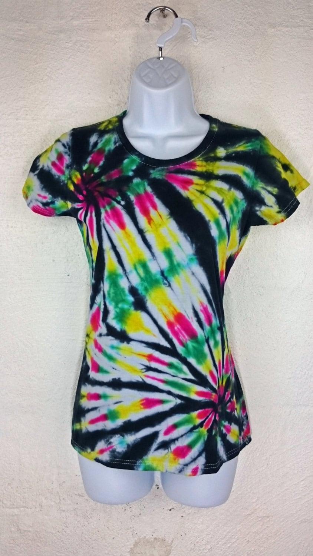 Tie dye t shirt women 39 s tie dye women 39 s t shirt for Custom tie dye t shirts