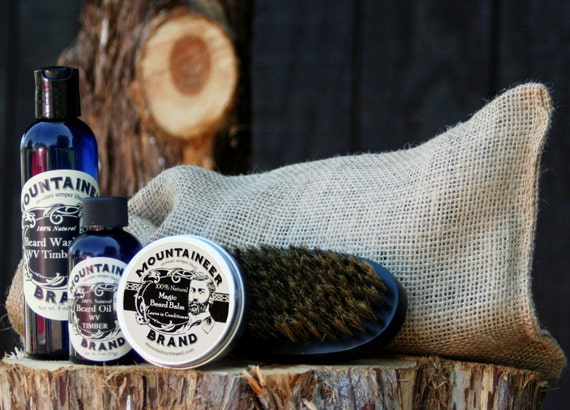 Mountaineer Brand Complete Beard Care Kit By MoutaineerBrand