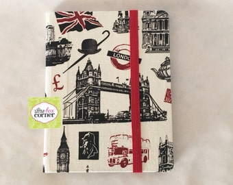 Handmade Passport Cover, Fabric Cover