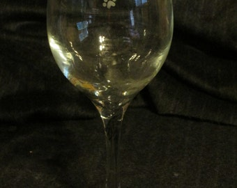 It's Not Drinking Alone...Dog Home Wine Glass
