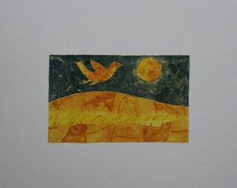 Yellow Bird - Print