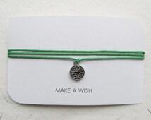 Wish bracelet, make a wish bracelet, friendship bracelet, celtic knot bracelet