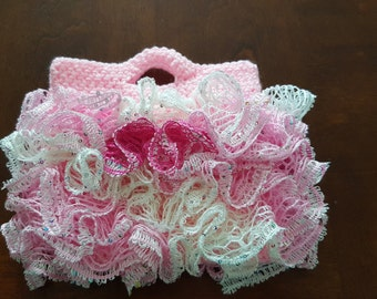 Girls Ruffle Purse