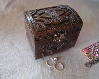 Jewelry box. Wood box. Jewelry wood box. Wood jewelry box