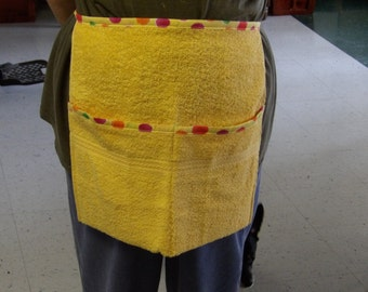 Cool Terry Cloth Handy Apron
