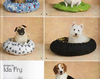 Dog Bed Sewing Pattern, Dog Accessories Sewing Pattern, Dog Toy Sewing Pattern, Uncut Sewing Pattern, Pet Accessories, Simplicity 2297