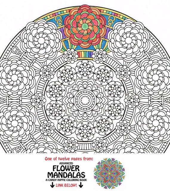 Mandala Coloring Page Crown of Gaia printable coloring