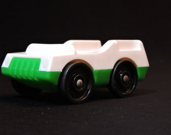 1970s Fisher Price Little People Vintage Family Car for Two