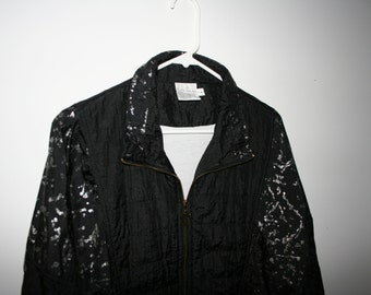 vintage medium black jacket