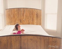 Bed, Headboards, Pallet Wood Bed