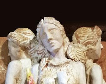 Hecate Trivia-Ceramic Relief