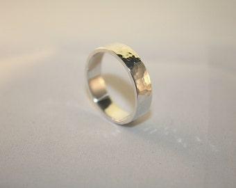 Hammered  ring 5 mm (