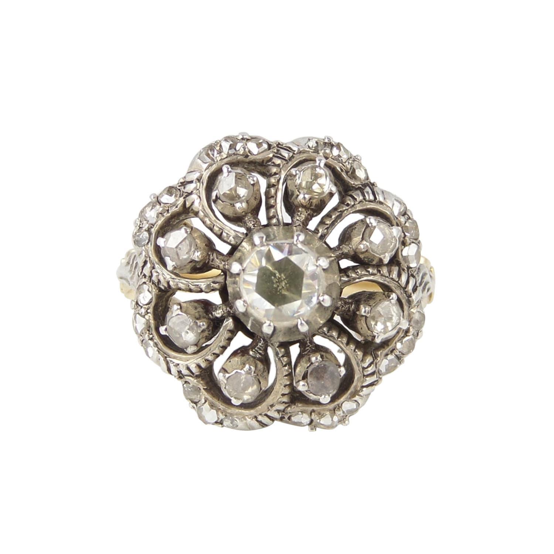 georgian ring antique ring antique silver