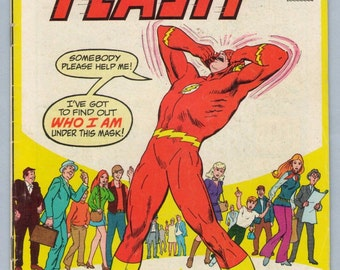 Flash 218 Nov 1972 VG+ (4.5)