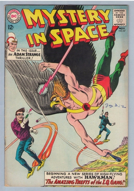 Mystery in Space 87 Nov 1963 FI- (5.5)