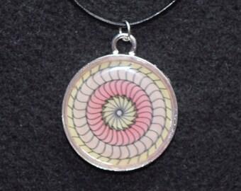 """1"""" Mandala Necklace - """"Helia"""""""