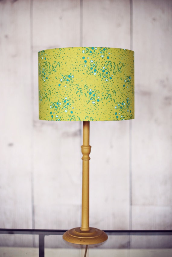 Green lamp shade green home decor fall decor table lamp Home decorators lamp shades