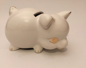 Porcelain Piggy Bank~Vintage-Germany/Japan