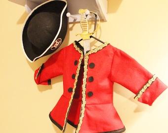Pirate Jacket. Child Pirate Costume. Pirate Dress Up Jacket. Captain Hook Jacket. Captain Hook Costume. Pirate Captain Costume!