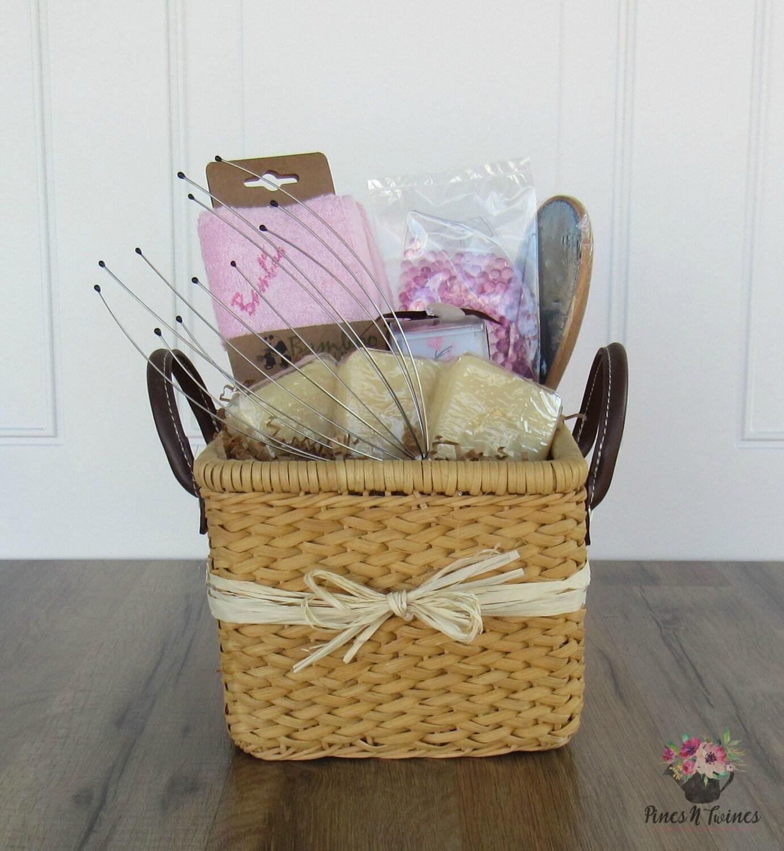 spa bath gift basket woman 39 s gift basket