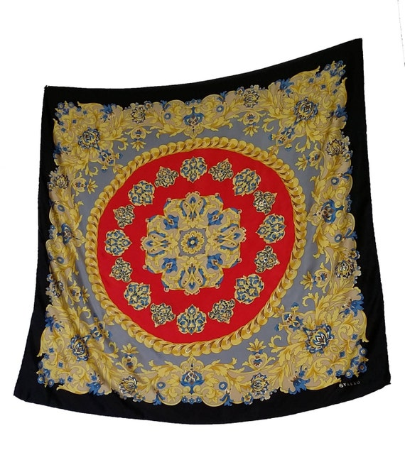 items similar to vintage silk scarf by house