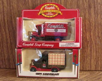 Campbell's Soup Company / diecast model / souvenir / collectible / Father's day / Birthday / 100th & 125th Anniversary / mint condition