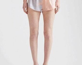 Sunset Silk Printed Shorts