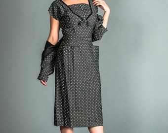 1950's dress and jacket