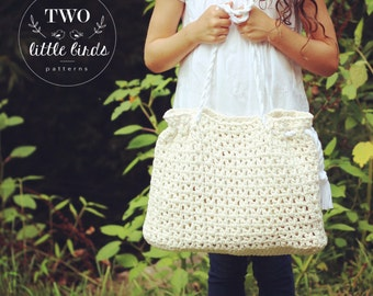 Maxwell Tote (Crochet Pattern)