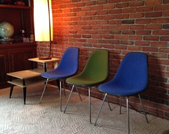 Vintage Eames Shell Chair Etsy