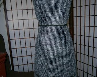 Women's Tweed Strapless Dress