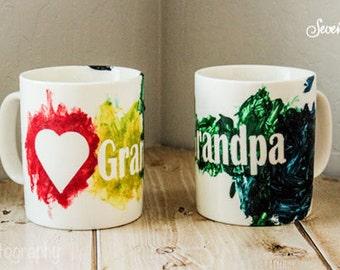 Kids Craft Kit - Kids DIY Painted Mug - DIY hand painted coffee cup for the kids  - DIY Craft Kit - Craft with the Kids  - Painted Mug