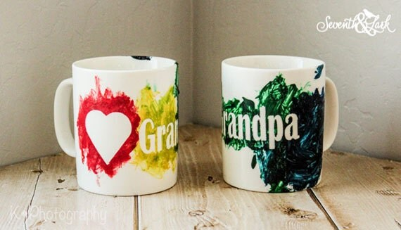 Diy Mug Painting Kids