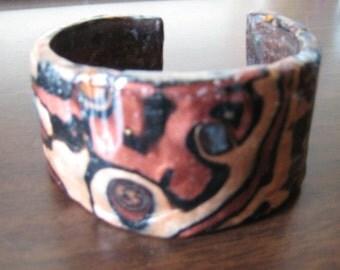 Bangle Bracelet in Metallic colors