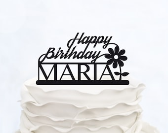 BIRTHDAY CAKE TOPPER_Birthday Cake_Birthday Decoration_Birthday Design_Made in italy