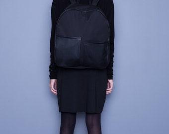 Black/Backpack/Waterproof/Street urban/Large/