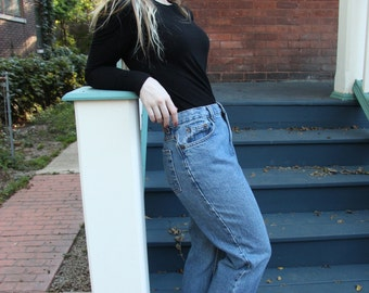 40% OFF! With Code - 1990s Vintage Relaxed Fit Route 66 Light Wash Jean - Size 7/8 Tall