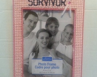 Breast Cancer Survivor Photo Frame