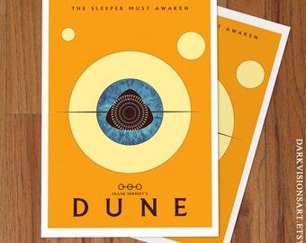 Dune Poster Art Print - Frank Herbert Variant